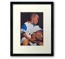 The Greatest Ride Framed Print