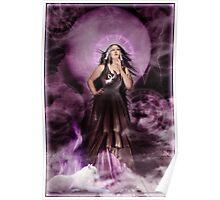 Moon Child Magic - Wolf - Alyssa Hedrick Poster