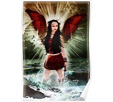 Harpy - Siren - Kalli McCandless Poster