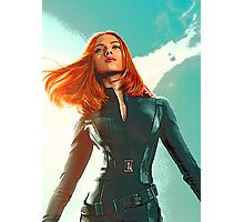 Black Widow- In the Winter Soldier Photographic Print