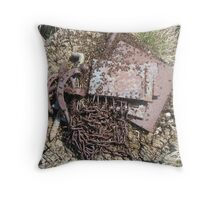 The Ants Come Marching In Throw Pillow