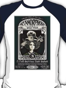 Metamorphosis by The Wolf Man: A Full Service Hair Salon (Vintage) T-Shirt