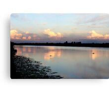 Sunset Nes a/d Amstel  Canvas Print