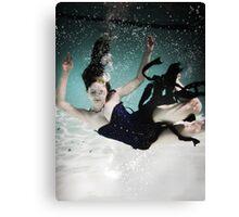 Fall into the Deep - Underwater - Kalli McCandless 2 Canvas Print