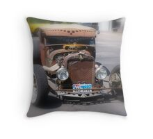A Munster Ride Throw Pillow