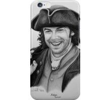 Aidan Turner as Ross Poldark - Portrait iPhone Case/Skin