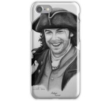Aidan Turner as Ross Poldark - Portrait iPhone Case/Skin