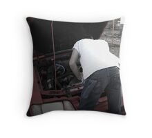 Todd LaPointe, Mustang 3 Throw Pillow