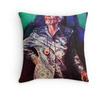 The Great Dame Throw Pillow