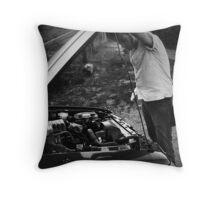 Todd LaPointe, Mustang 6 Throw Pillow
