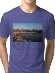 Early Morning Breeze - Lake Ontario, Toronto, Canada Tri-blend T-Shirt