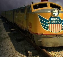 """Union Pacific Train """"The Storm"""" by TeeMack"""