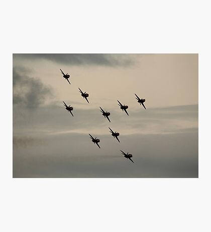 Red Arrows Photographic Print