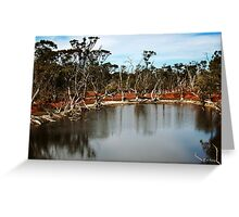 Gorden River Greeting Card