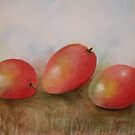 Exotic, Delicious and Beautiful-Watercolor Painting by Esperanza Gallego