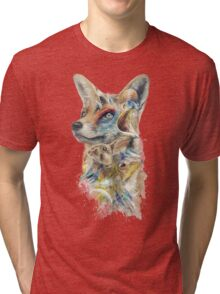 Heroes of Lylat Starfox Inspired Classy Geek Painting Tri-blend T-Shirt