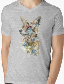 Heroes of Lylat Starfox Inspired Classy Geek Painting Mens V-Neck T-Shirt