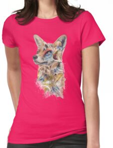 Heroes of Lylat Starfox Inspired Classy Geek Painting Womens Fitted T-Shirt