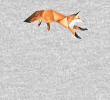 Low poly watercolor fox. Unisex T-Shirt