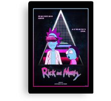 Rick and Morty - Nitro Overdrive Canvas Print