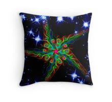 My Gnarly Star Throw Pillow