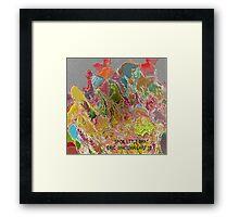 ( SPOIL LITTLE  BRAT )   ERIC WHITEMAN  ART   Framed Print