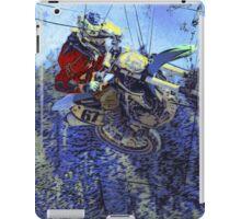 Motocross Dirt-Bike Championship Race iPad Case/Skin