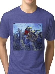 Motocross Dirt-Bike Championship Race Tri-blend T-Shirt