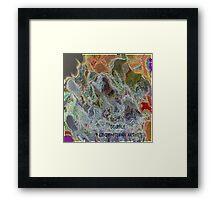 ( SUFFLE  )   ERIC WHITEMAN  ART  Framed Print