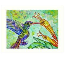 Tubular Nectar Art Print