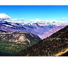 Purple mountains majesty Photographic Print