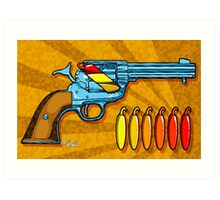 Chili POW POW!! ( Naranja ) Art Print