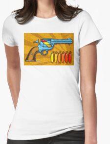 Chili POW POW!! ( Naranja ) Womens Fitted T-Shirt