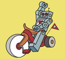 hot wheeling robot love Kids Tee