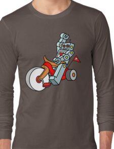 hot wheeling robot love Long Sleeve T-Shirt