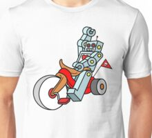 hot wheeling robot love Unisex T-Shirt