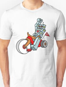 hot wheeling robot love T-Shirt