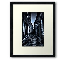 Alley of broken hearts challenge Framed Print
