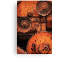 Pulleys Canvas Print