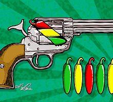 Chili POW POW!! ( Verde ) by rewireddesign