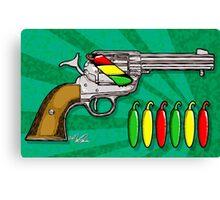 Chili POW POW!! ( Verde ) Canvas Print