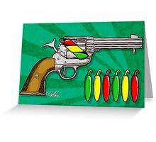Chili POW POW!! ( Verde ) Greeting Card