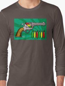 Chili POW POW!! ( Verde ) Long Sleeve T-Shirt
