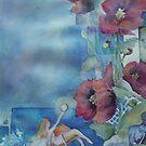 Lisa's Garden with fairies by Ellen Keagy