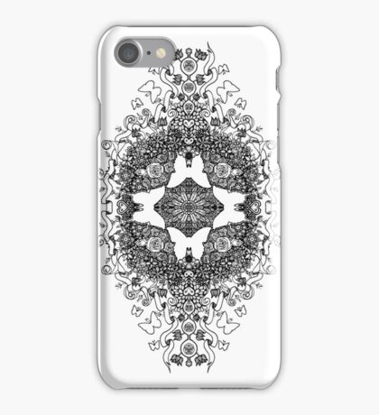 Butterfly Topiary iPhone Case/Skin
