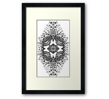 Butterfly Topiary Framed Print