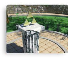 Triforce Canvas Print