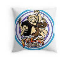 Fabulous Furry Freak Brothers! Throw Pillow