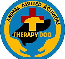 ANIMAL Assisted Activities  - THERAPY DOG logo by SofiaYoushi