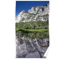 Half Dome At Mirror Lake Poster
